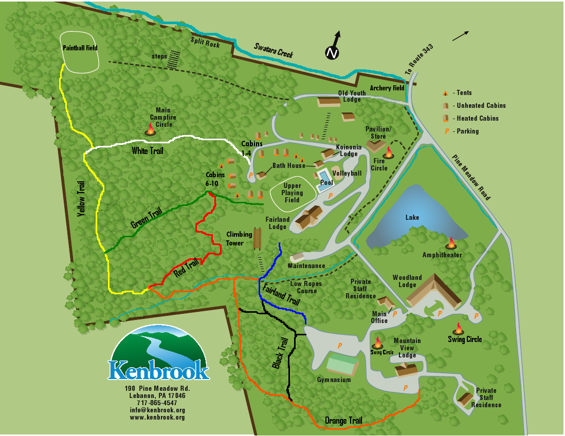 Kenbrook Map